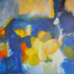 Blue-Yellow Symphony # 2